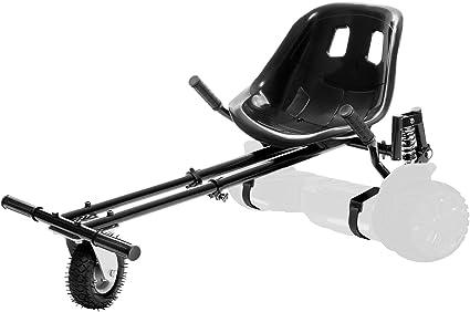 Jetson JetKart 2.0 - Accesorio universal para tabla de aeropatín – Convierte Hoverboard para sentarse hacia abajo eléctrico Go Kart con suspensión trasera para montar fuera de carretera – se adapta a