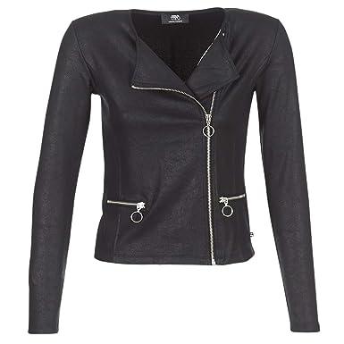 6e3eef7f91d3 Le Temps des Cerises Veste Femme Style Perfecto Noir  Amazon.fr  Vêtements  et accessoires