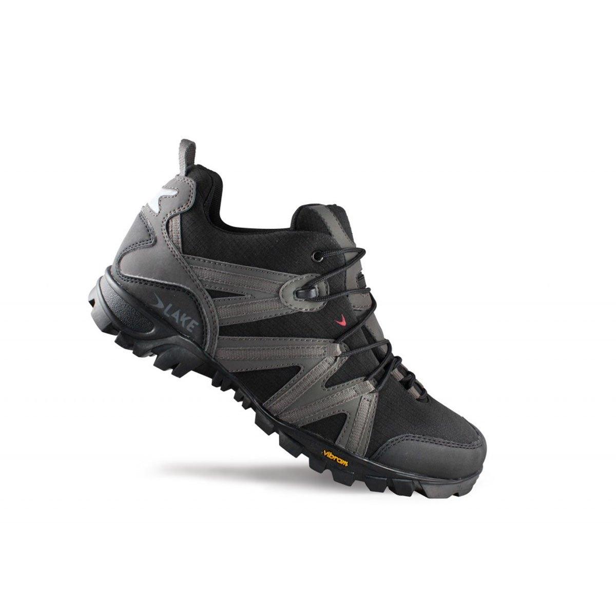 Lake MX100 Mountainbikeschuhe damen schwarz grau Größe 39 2014 MTB Schuhe
