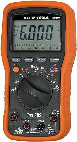 Klein Tools MM6000 Electrician s HVAC TRMS Multimeter