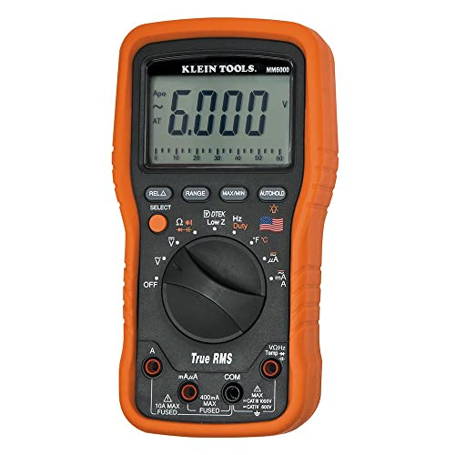 Klein Tools MM6000 Electrician's/HVAC TRMS Multimeter