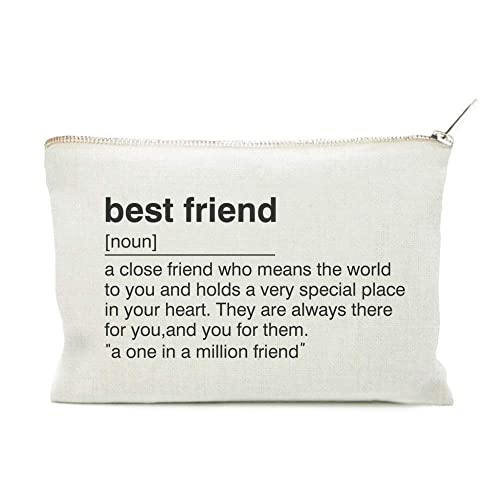 Best Friend Gift, Toiletry Bag, for BFF, Cosmetic Bag