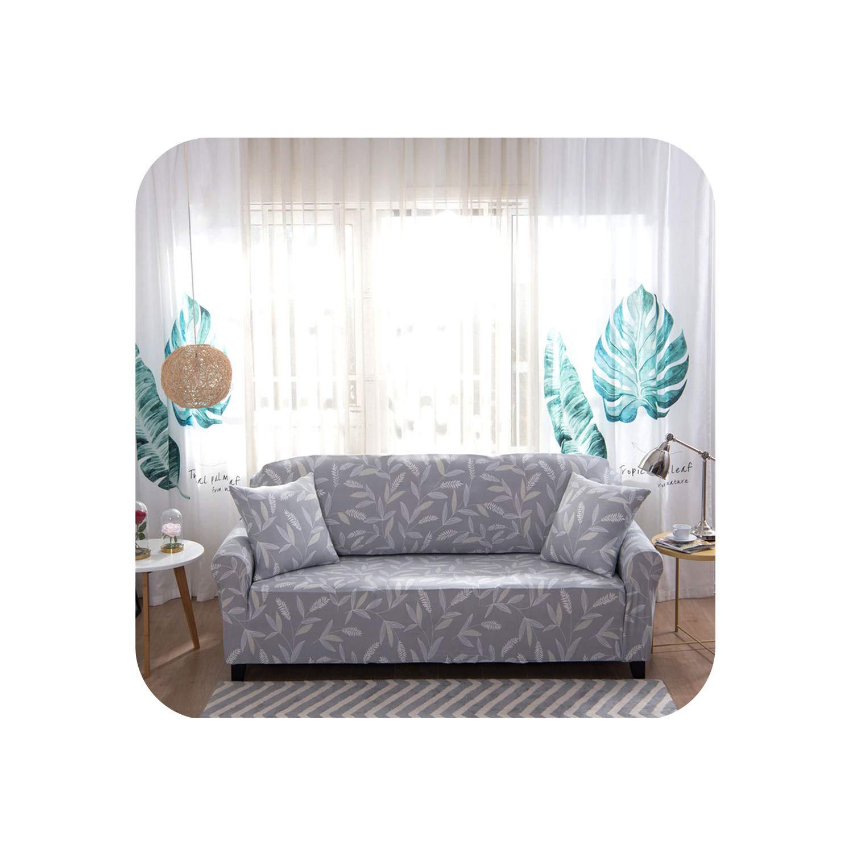 Amazon.com: Diremo Stretch Elastic Sofa Cover Cotton Sofa ...