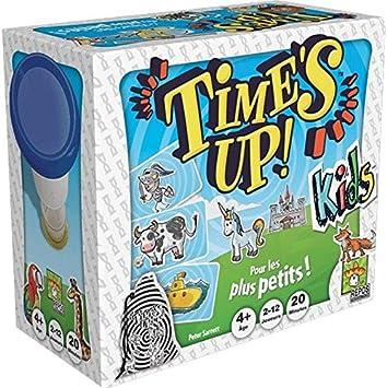 Asmodee - Times Up Kids, para los Jugadores más jóvenes (TUK01ES): Amazon.es: Juguetes y juegos