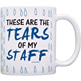Coworker Boss Gift Tears of my Staff Office Humor Gag Gift Coffee Mug Tea Cup Tear Drops