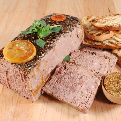 Pate de Campagne with Black Pepper - Traditional - 1 x 3.6 lb - Pate French