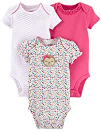 3 Piece Bodysuits Girl-Carters Child of Mine Preemie Girl For Bodysuits 3 Piece