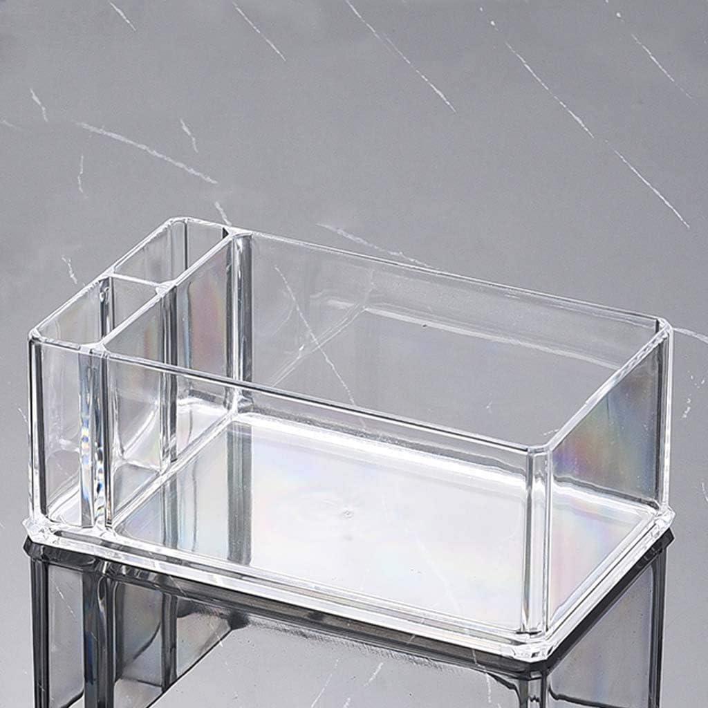 14x8x5.5cm//5.51x3.15x2.17in decoraci/ón de Mesa del hogar Servilletero de acr/ílico para c/óctel Caja de pa/ñuelos acr/ílico Wanghuaner dispensador de Papel para Bar A