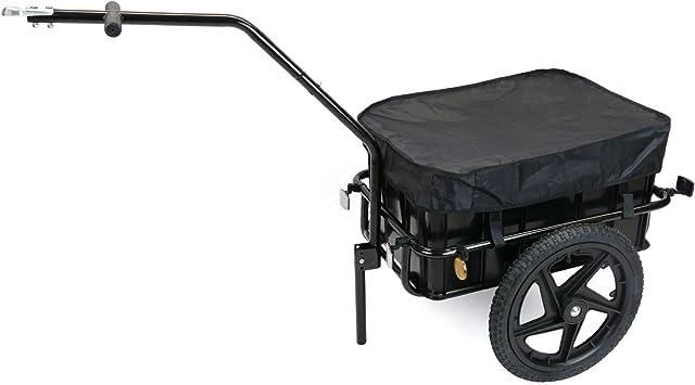 Remolque de bicicleta para carga de 40Kg con caja de 70L: Amazon.es: Electrónica