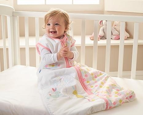 Blossom Bunny - Saco de dormir infantil, diseño de conejo blanco bunte Motive Talla:18-36 meses: Amazon.es: Bebé