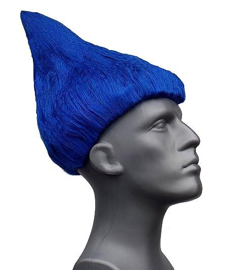 Amazon.com  Troll Wig Costume Wigs Thing One 1 2 (Blue)  Clothing 09471f471f52