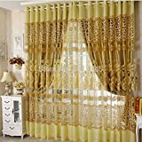 Cheap Hot Sale Modern Tulle Window Curtain Embroidered Voile Sheer Curtains for Living Room the Bedroom Window Screening