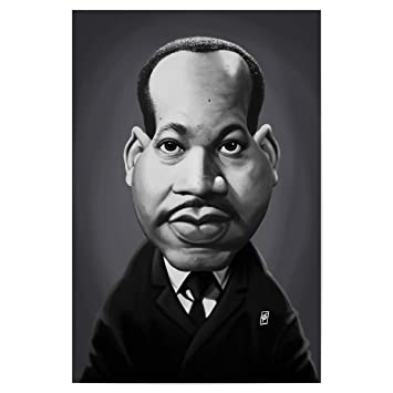 Amazon De Artboxone Poster 30x20 Cm Lustig Martin Luther King