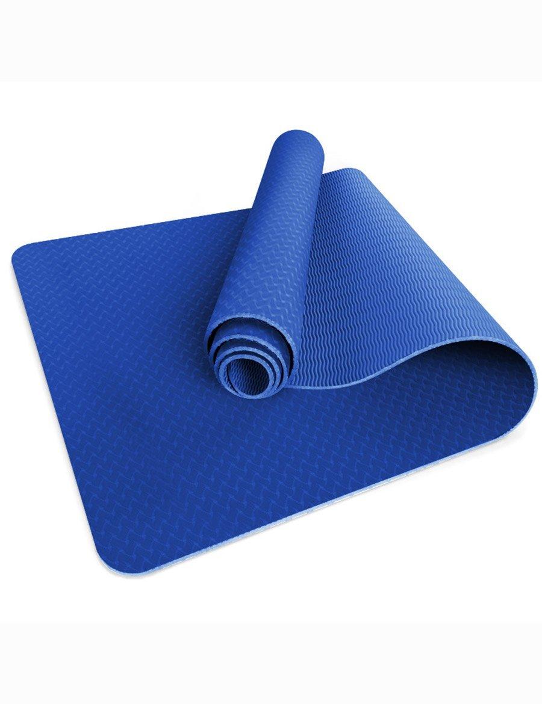 E  JIUYITECH Tapis de Yoga Professionnel Tapis de Yoga allongé antidérapant Tapis de Fitness Tapis couché