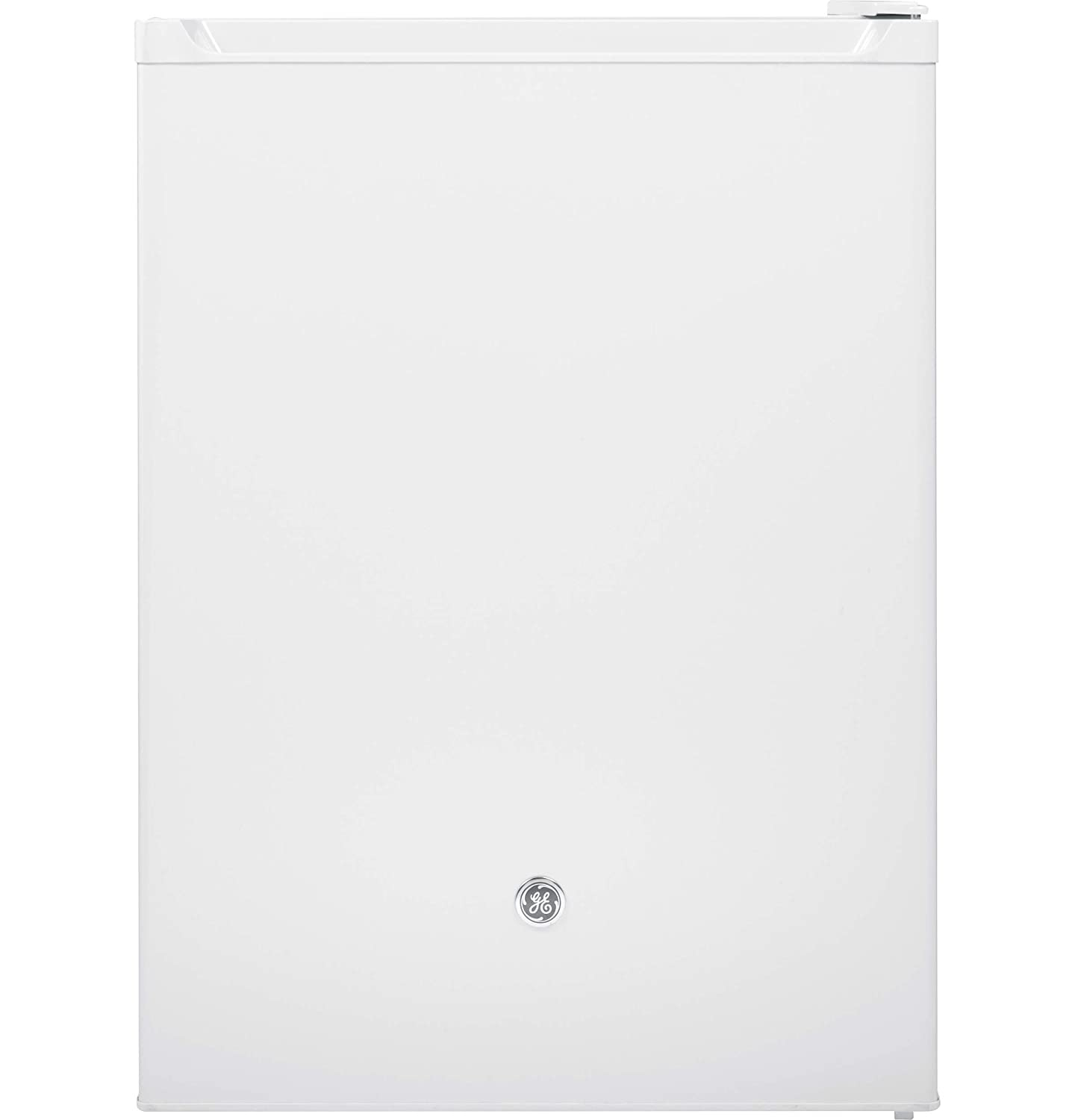 GE GCE06GGHWW Spacemaker 5.6 Cu. Ft. White Undercounter Compact Refrigerator - Energy Star