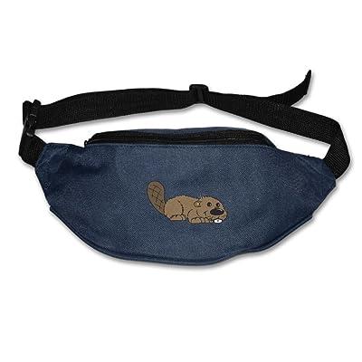 CRUSBIN Unisex Animal Beaver Lover Adjustable Hip Pack