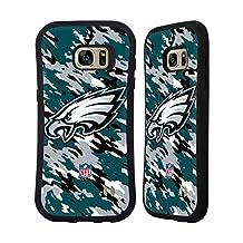 Official NFL Camou Philadelphia Eagles Logo Hybrid Case for Samsung Galaxy S6 edge+ / Plus
