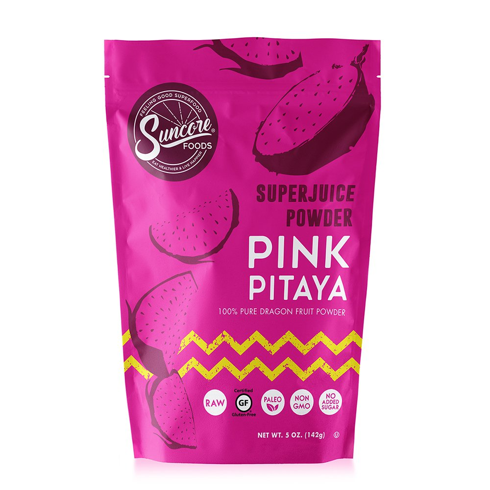 Suncore Foods - 100% Pure Pitaya Dragon Fruit Natural Supercolor Powder by Suncore Foods