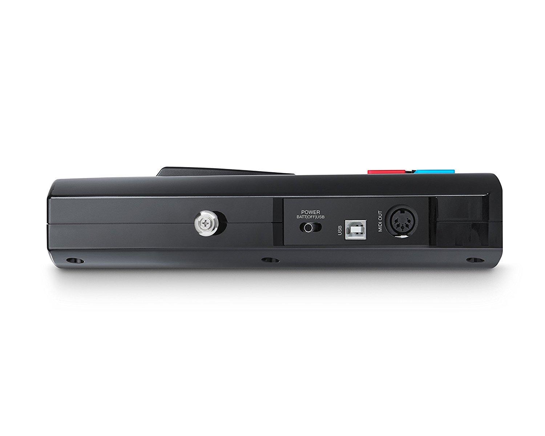 MIDI de Alto Rendimiento con Suite de Software Premium Incluida Alesis Vortex Wireless 2 Controlador Keytar Inal/ámbrico USB color negro