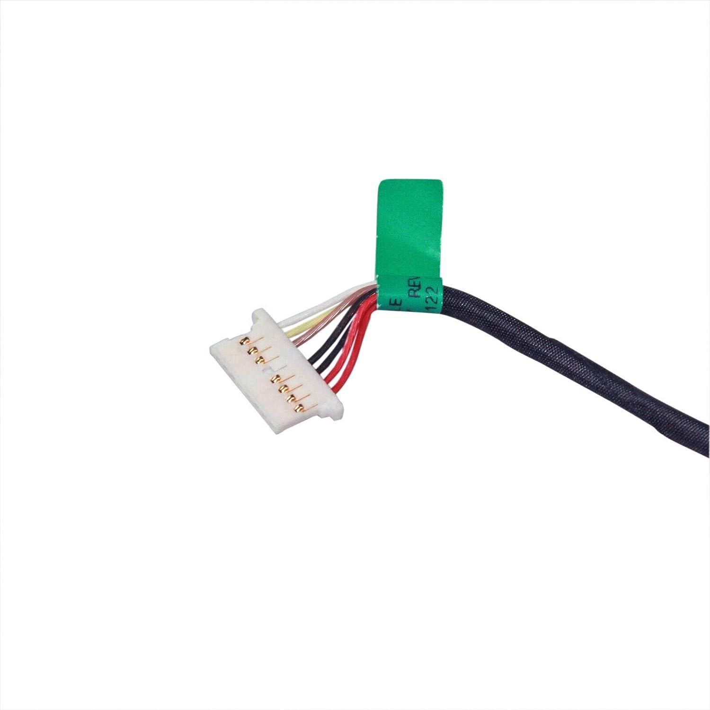 AC DC in Power Jack Charging Port Cable for Compatible with HP 15-da0086od 15-da0087cl 15-da0087nr 15-da0088cl 15-da0088nr 15-da0089cl 15-da0097nr 15t-da000 15-da1005dx 15-da1047nr Laptop