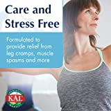 KAL® Magnesium Glycinate 400 mg   Vegan, Chelated, Non-GMO, Soy, Dairy, and Gluten Free   Extra Value Size   100 Servings   200 Tablets