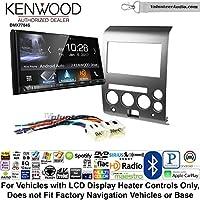 Volunteer Audio Kenwood DMX7704S Double Din Radio Install Kit with Apple CarPlay Android Auto Bluetooth Fits 2006-2007 Nissan Armada, Titan