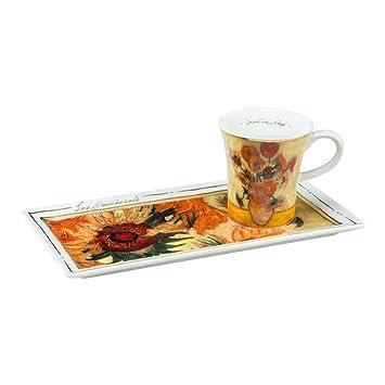 Fantastisch Goebel Porzellan Espressoset Artis Orbis Vincent Van Gogh Die Sonnenblumen,  66513870