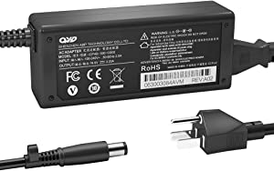 QYD 65W Power Supply Cord Replacement for Laptop Charger HP N17908 V85 613153-001 6715B 6735B 6735S Elitebook 8470P Flexible Thin Client T520 T610 T620 T630 F5A54AT 741346-001 Battery Power Adapter