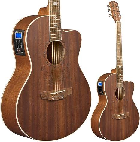 Lindo Feeling - Guitarra electroacústica (con preamplificador ...