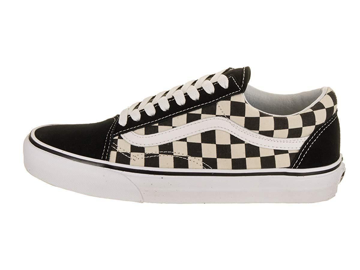 Vans Old Skool (Primary Check) Skate Shoes (4.5 US Men/ 6 US Women) by Vans (Image #2)