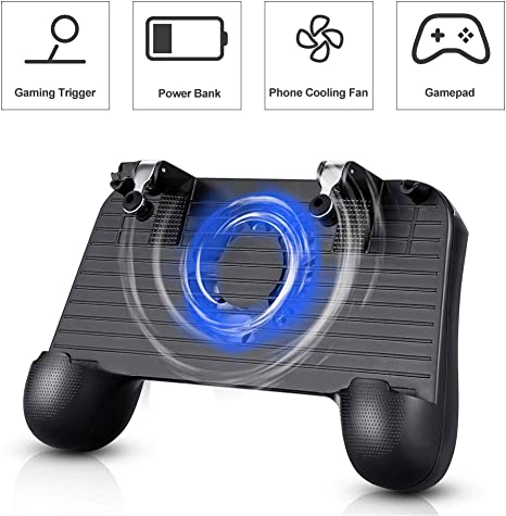Welltop Controlador portátil para videojuegos Pubg, mando de ...