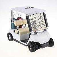 Crestgolf Mini despertador de carrito de Golf, paquete de 1 pieza