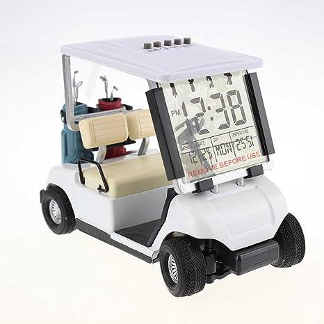 Crestgolf Mini despertador de carrito de Golf, paquete de 1 ...