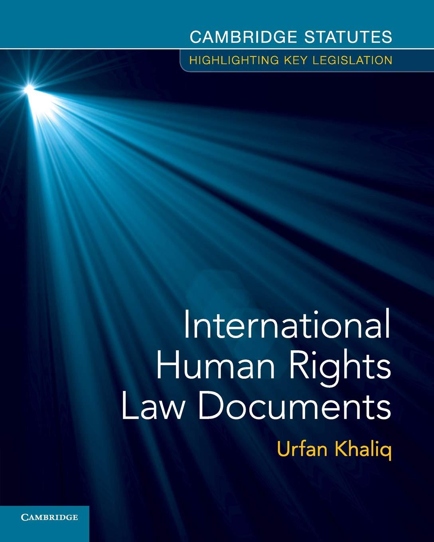 International Human Rights Law...
