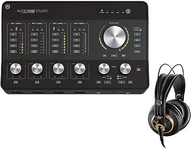 Arturia AudioFuse Studio 18 x 20 Audio Interface (Bluetooth) with AKG K240 Studio Pro Stereo Headphones Bundle