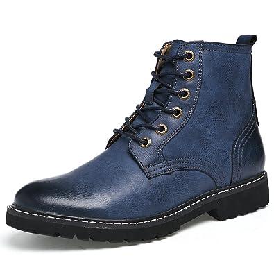 Tendance Homme Hiver Chaussure Bottes Large Classique Lfeu Pied TFJ5clK1u3