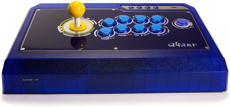 Qanba Q4raf Ice Blue Ps3 & Xbox 360 & Pc Joystick (Fightstick) by ...