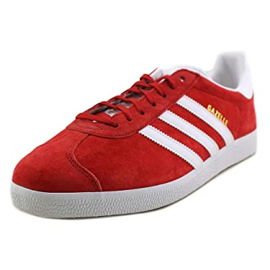 adidas Gazelle In Power Red/White by, 8