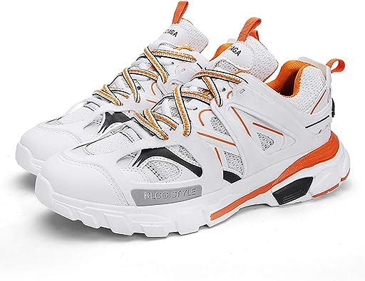 YU Zapatillas deportivas para hombre Zapatillas de deporte de punto Multisport Running Zapatillas de gimnasia: Amazon.es: Zapatos y complementos