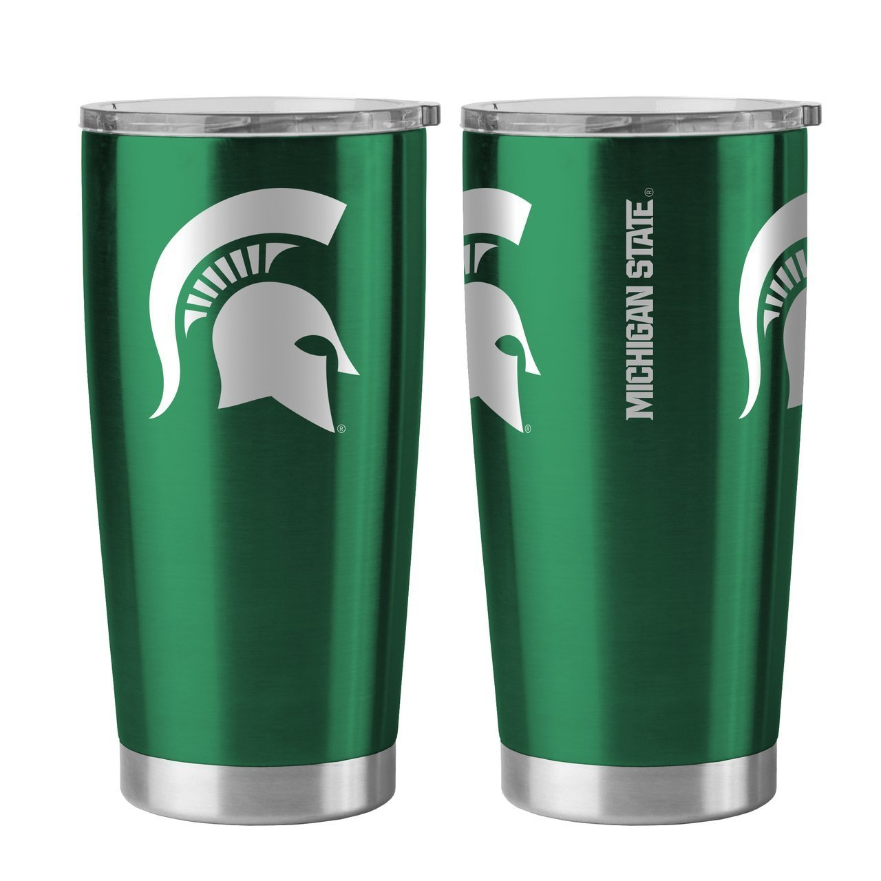 Michigan State Spartans 20 oz Ultra Stainless Steel Travel Tumbler by Boelter Sports