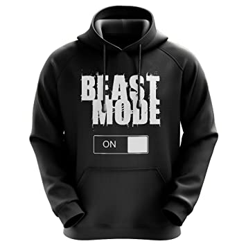 FABTEE Beast Mode M/änner Hoodie Gr/ö/ßen S-3XL