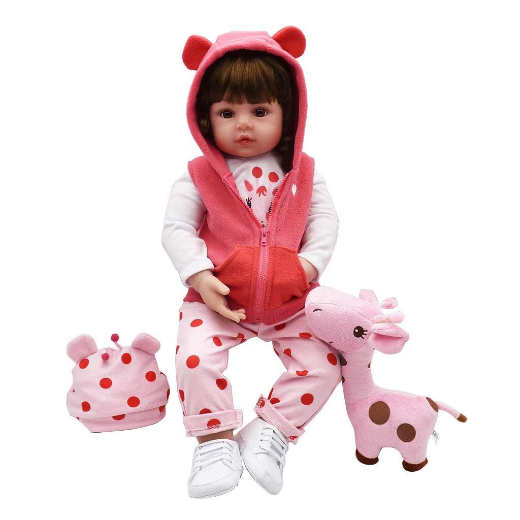 venderse como panqueques Haven shop Muñeca para recién recién recién Nacido de 61 cm, muñeca de simulación de silicio Suave bodeada, como muñeca de recién Nacido, Juguete de bebé para la Primera Infancia.  tiendas minoristas