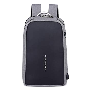 e3325a9fdfc5 Amazon.com: Reichlixin Waterproof Anti-Theft Backpack with USB ...
