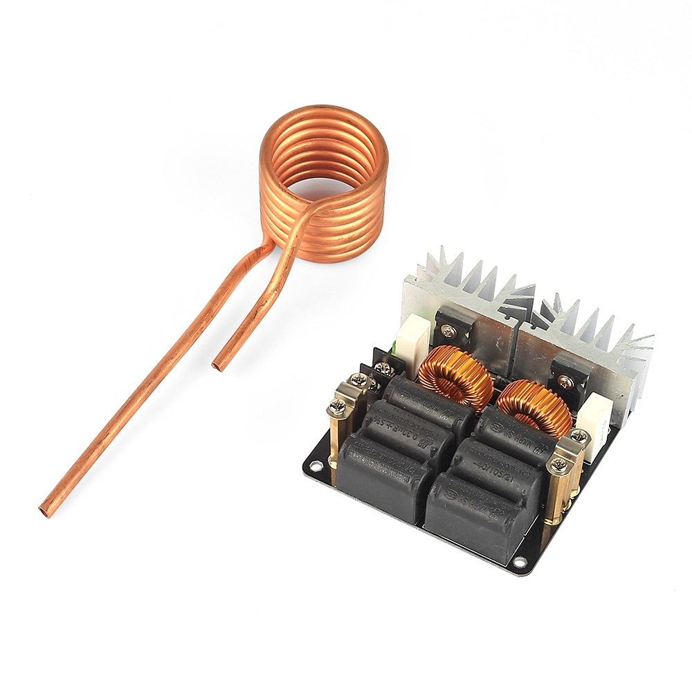 Buy Sainsmart 1000w Zvs Low Voltage Induction Heating Cooker Circuit Board N08 Bo Module Tesla Coil 12 48 Online At Prices In India Reviews Ratings