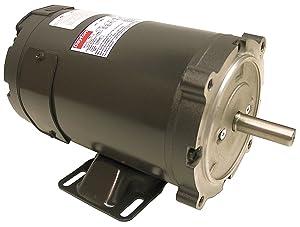 DC Motor, PM, TENV, 1/2 HP, 1800 rpm, 12VDC
