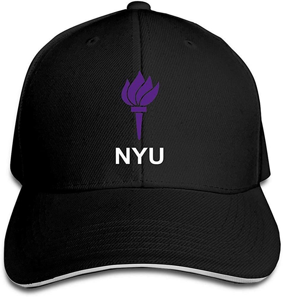 Wamnu YHuseki New York University Garden NYU Flag Flex Baseball cap Ash Black