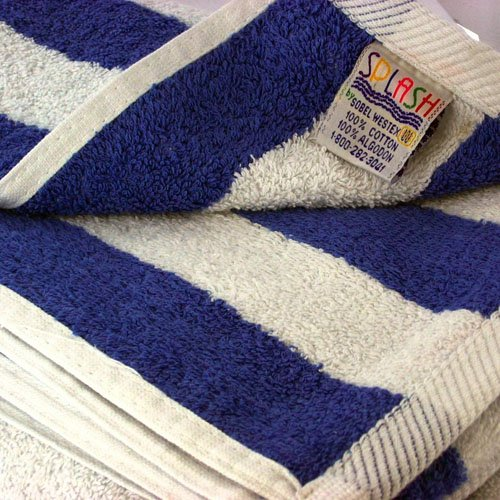 Splash Pool Towel - Hotel & Resort Large Pool Towels for Pool, (Royal Blue Pool)