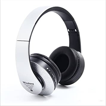 Feng-Bin Auriculares Bluetooth, auriculares estéreo con bajos pesados, auriculares inalámbricos grandes de