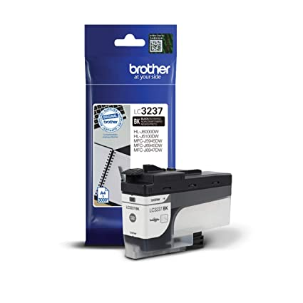 Brother LC3237BK - Cartucho de Tinta Negro Original para Las ...