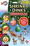 3-D Shrinky Dinks Christmas